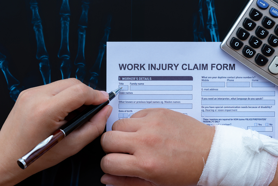 The Process Of Filing A Workers Compensation Claim