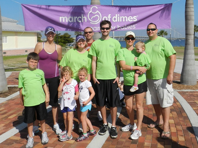 All Injuries Law Firm Raises Money For March Of Dimes