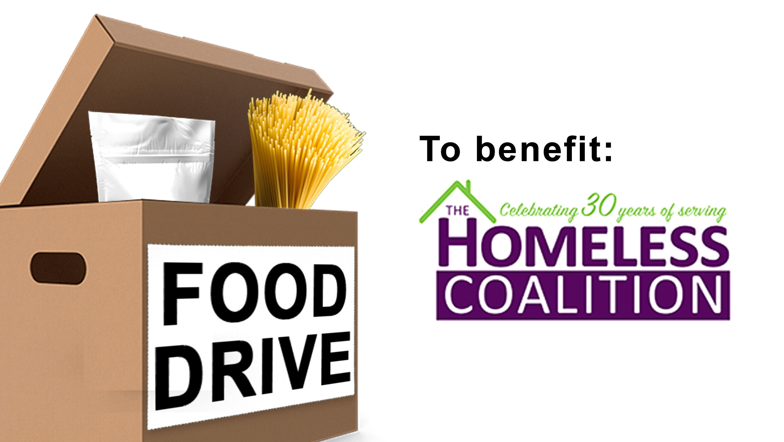 Food Drive In Support Of The Homeless Coalition